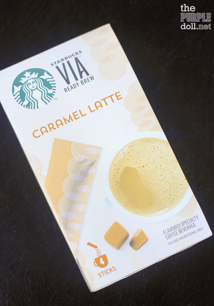 VIA Ready Brew Caramel Latte