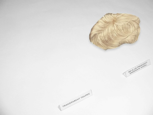 Transparent Toupee is now available!