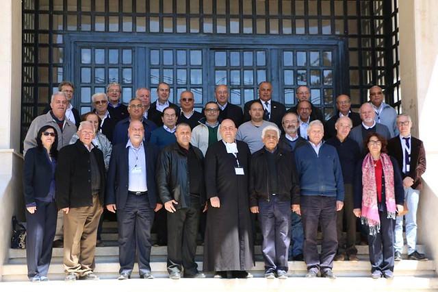 Rencontre des Directeurs de tous les établissements lasalliens du Proche-Orient (Jordanie)