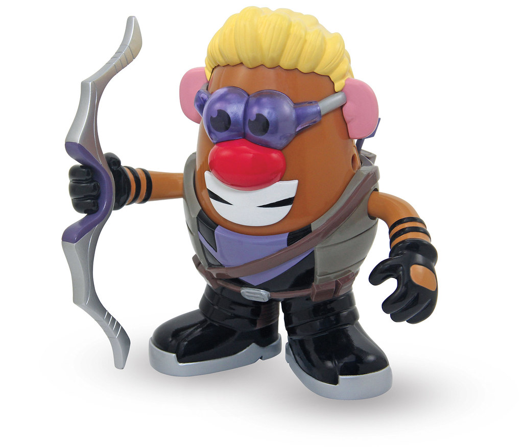 Mr. Potato Head × PPW【鷹眼、獵鷹、黑寡婦】MARVEL 系列