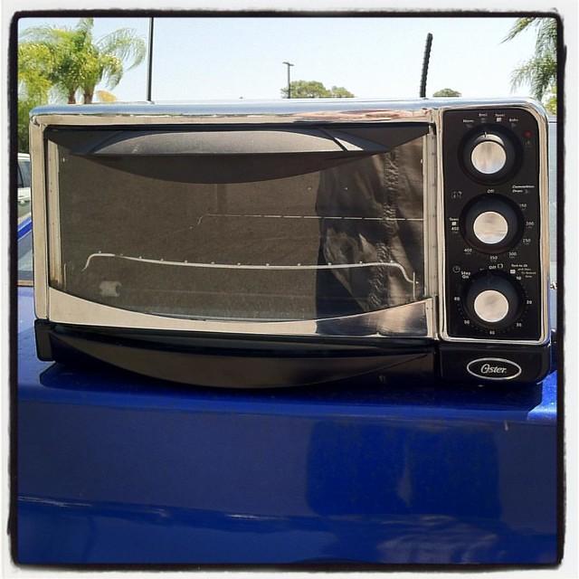 Ten-Dollar Toaster Oven from Goodwill...