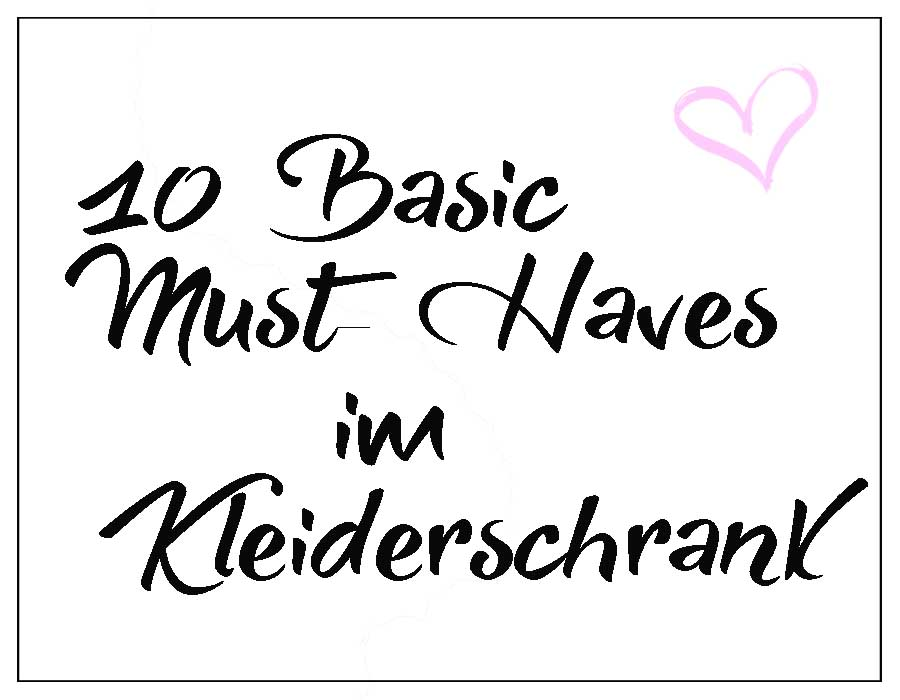 schrift-basic-must-haves