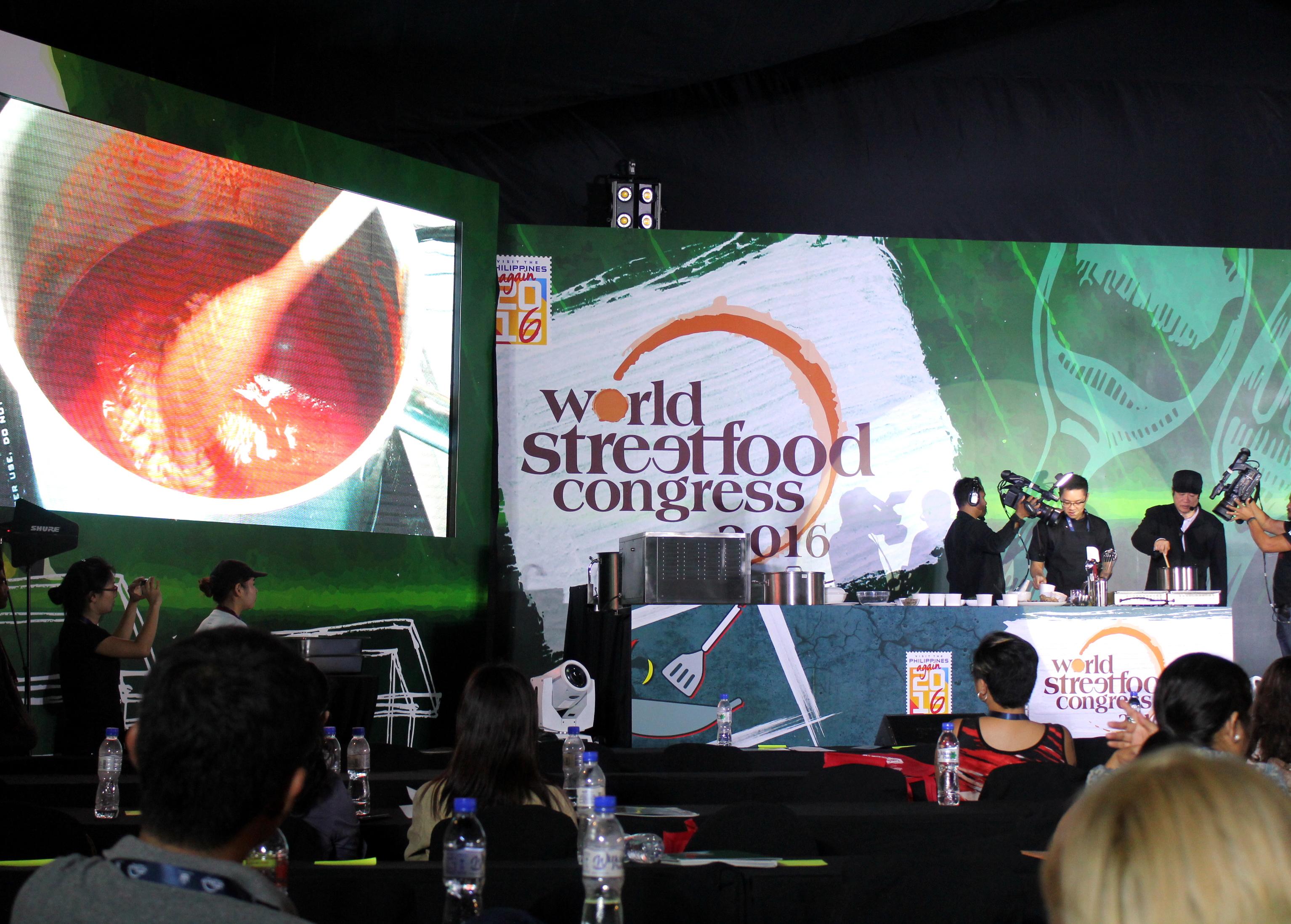 世界街头食品大会食品演示