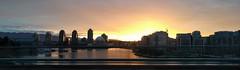 Sunrise from Cambie Bridge