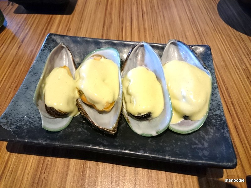 Wasabi Mussels