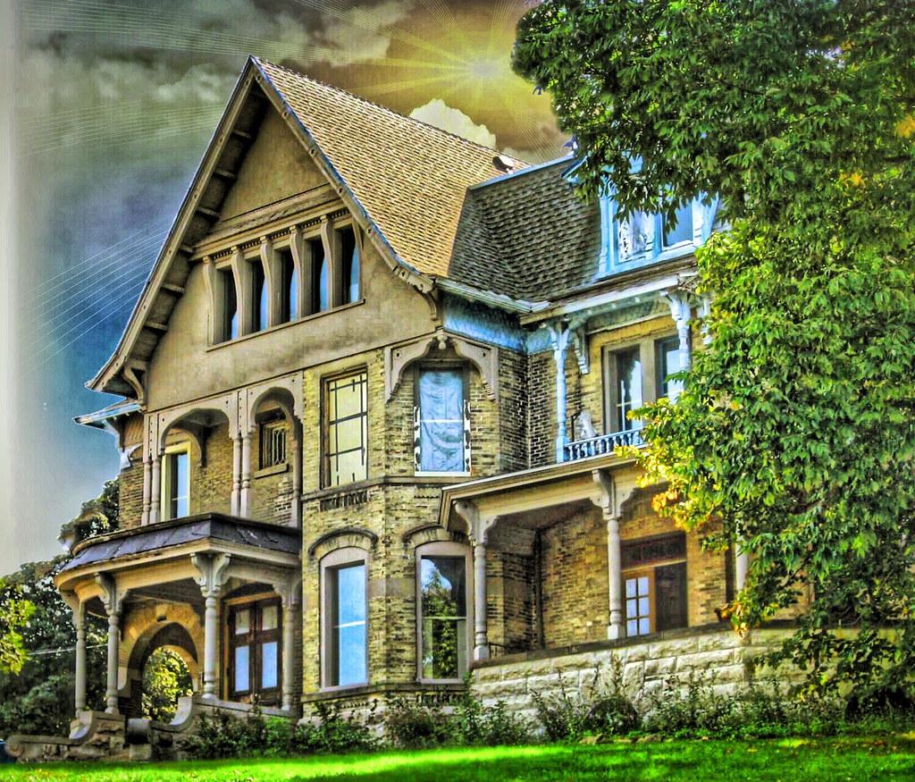 Janesville Wisconsin Lovejoy Mansion Queen Anne Hist Flickr