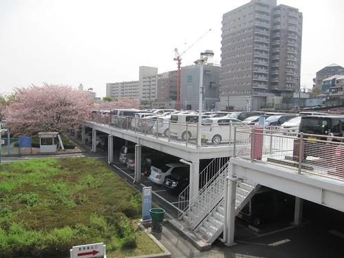阪神競馬場,駐車場