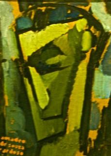 Image of Fernando Pessoa. portugal lisbon mnac artgalleryandmuseums museunacionaldeartecontemporânea amadeudesouzacardoso ✩ecoledesbeauxarts✩