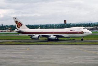 """Thai Airways International Boeing 747-2D7B HS-TGS """"Chainarai"""""""