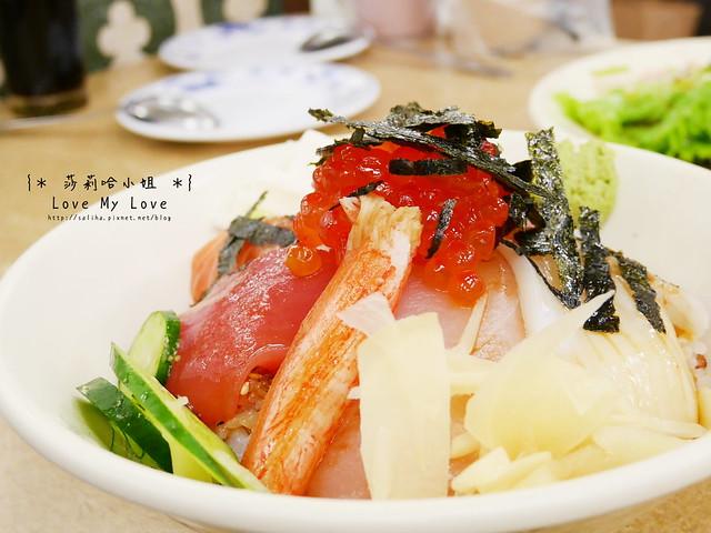 台北西門町美食餐廳推薦美觀園生魚片飯 (11)