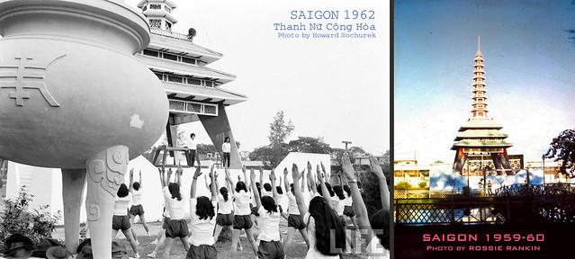 Thanh Nữ Cộng Hòa 1962 - Photo by Howard Sochurek