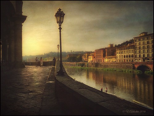 Morning in Florence.