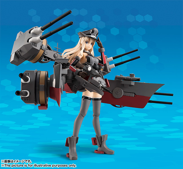 A.G.P.系列最期待商品化『《艦娘》Bismarck drei』迫力登場!