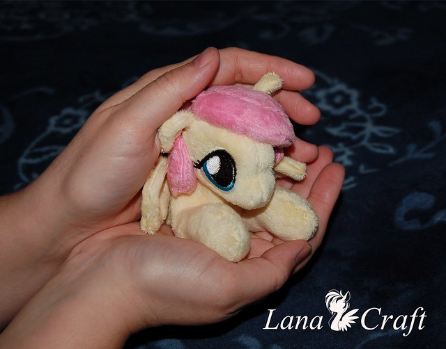 tiny_fluttershy_kitten_sized_plush_pony__by_lanacraft