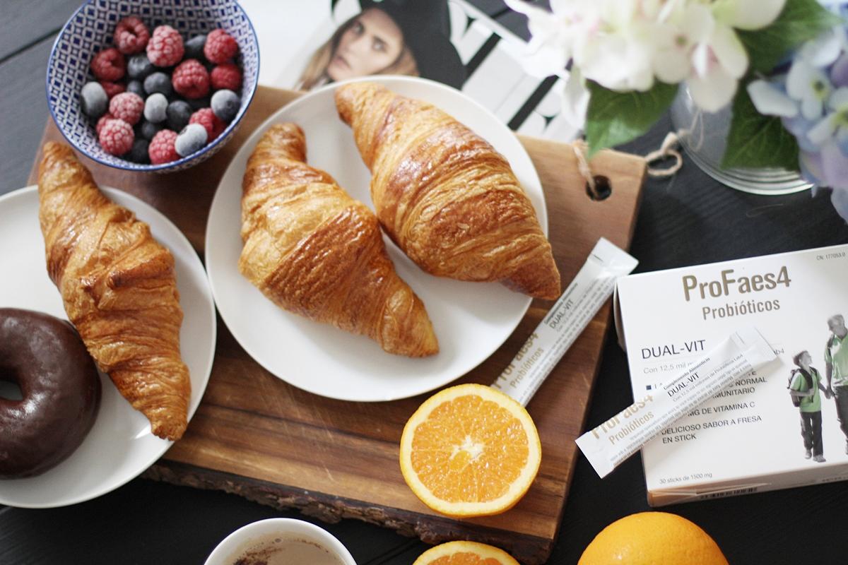 desayuno saludable y completo vitaminico de probioticos profaes4 dual vit 5