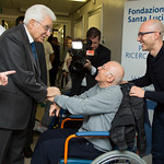 Il Presidente della Repubblica Visita la Fondazione Santa Lucia