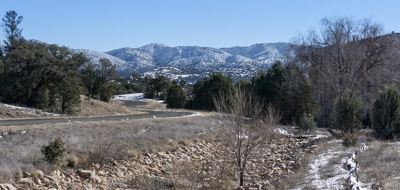 Snow South of Prescott 2