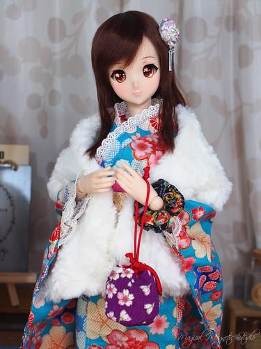 Ivory - kimono