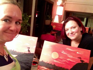 Paint Nite with Amy