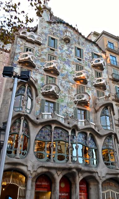 Antoni Gaudí - Casa Batllo
