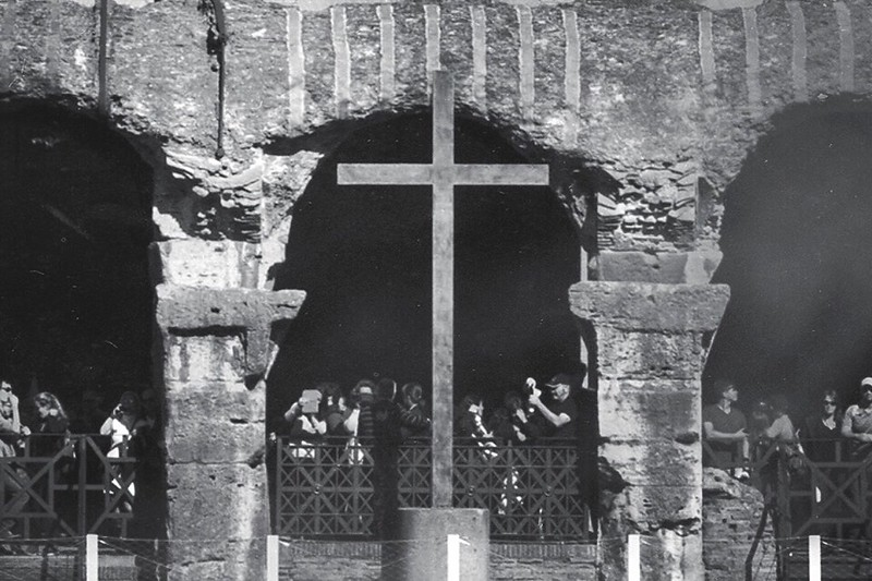 The Colosseum: Cross