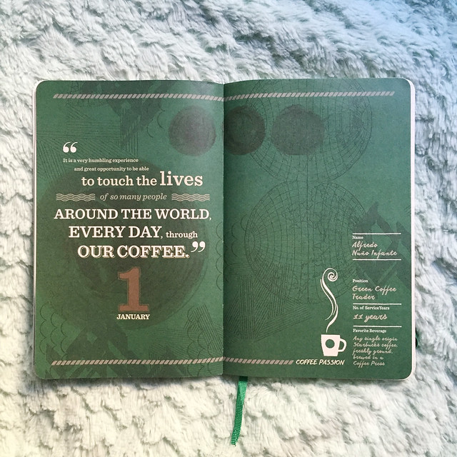 Patty Villegas - Starbucks Moleskine Weekly Planner 2016 -2