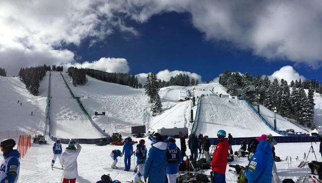 Visa Intl Freestyle at Deer Valley course