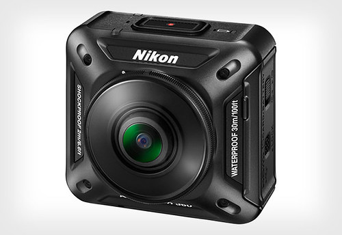 Nikon KeyMission 360 - 360 degrees waterproof action camera