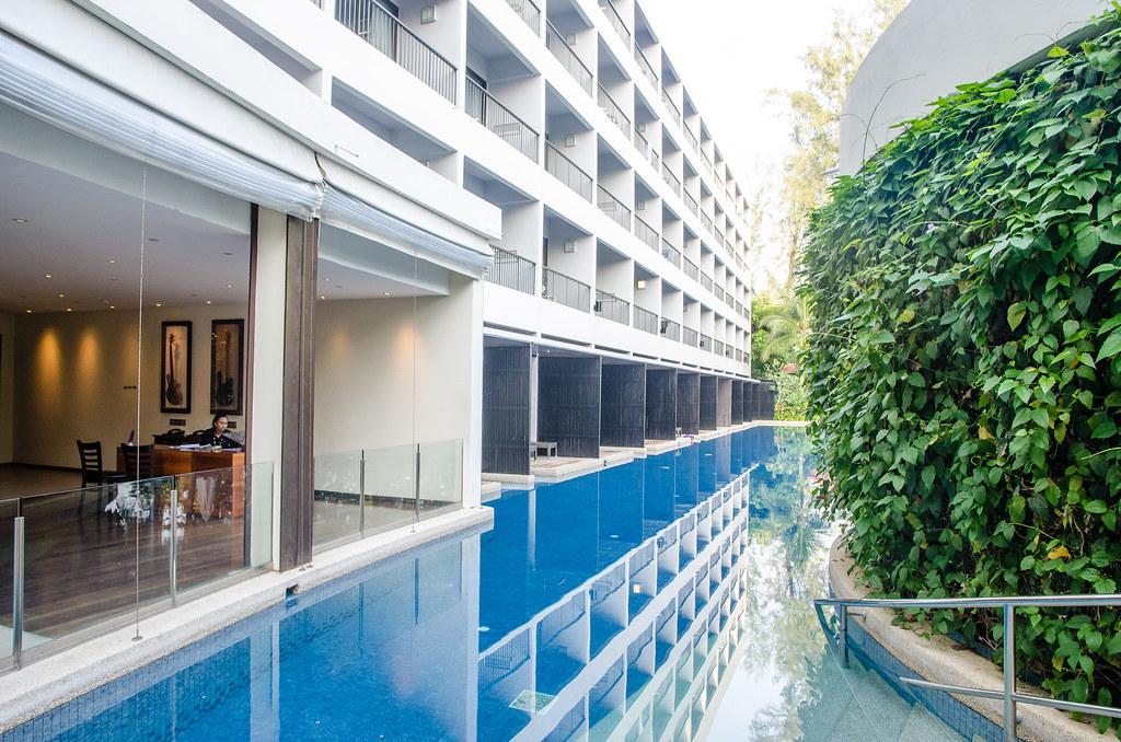 Swimming pool at Hard Rock Hotel Penang