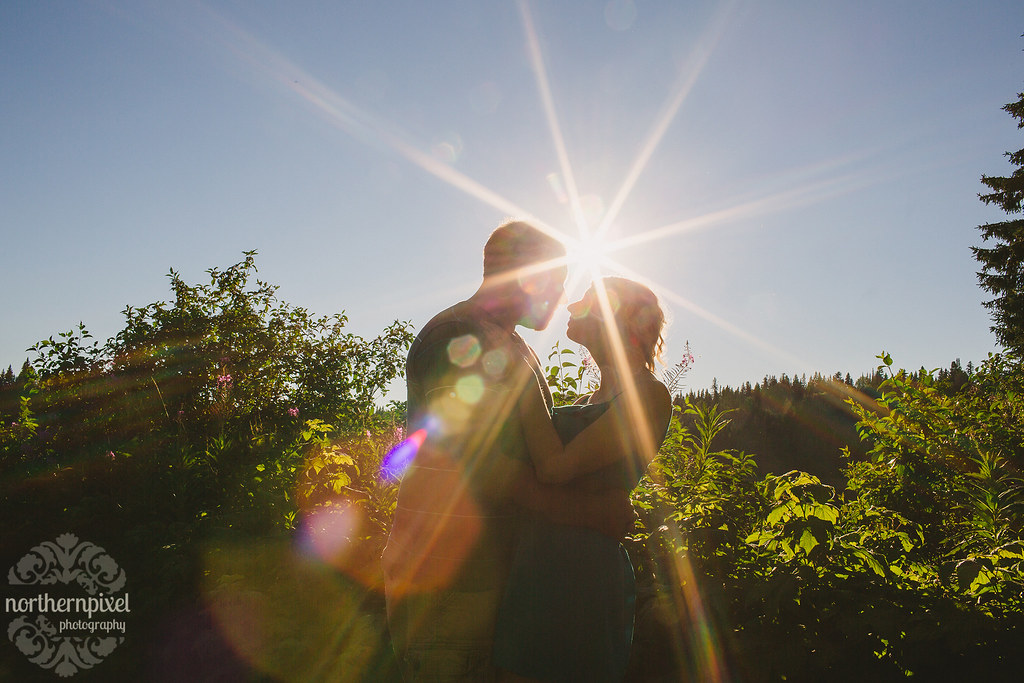Engagement Sunflare - Prince George BC