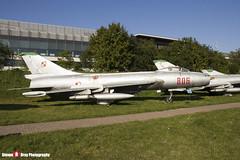 806 - 7806 - Polish Air Force - Sukhoi SU-7 BKL - Polish Aviation Musuem - Krakow, Poland - 151010 - Steven Gray - IMG_0329