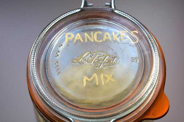 Pancakes mix