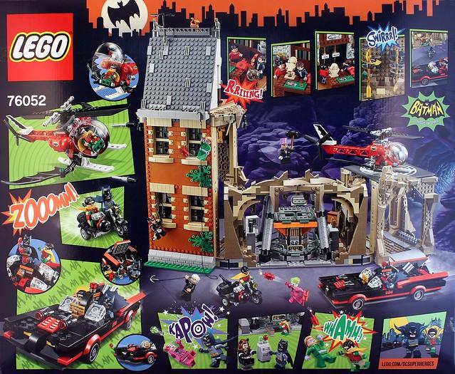 76052 LEGO Batman Classic TV Series Batcave [Review] | The ... Lego Batman 2 Sets