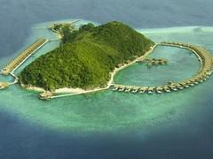 coron hotel- huma island