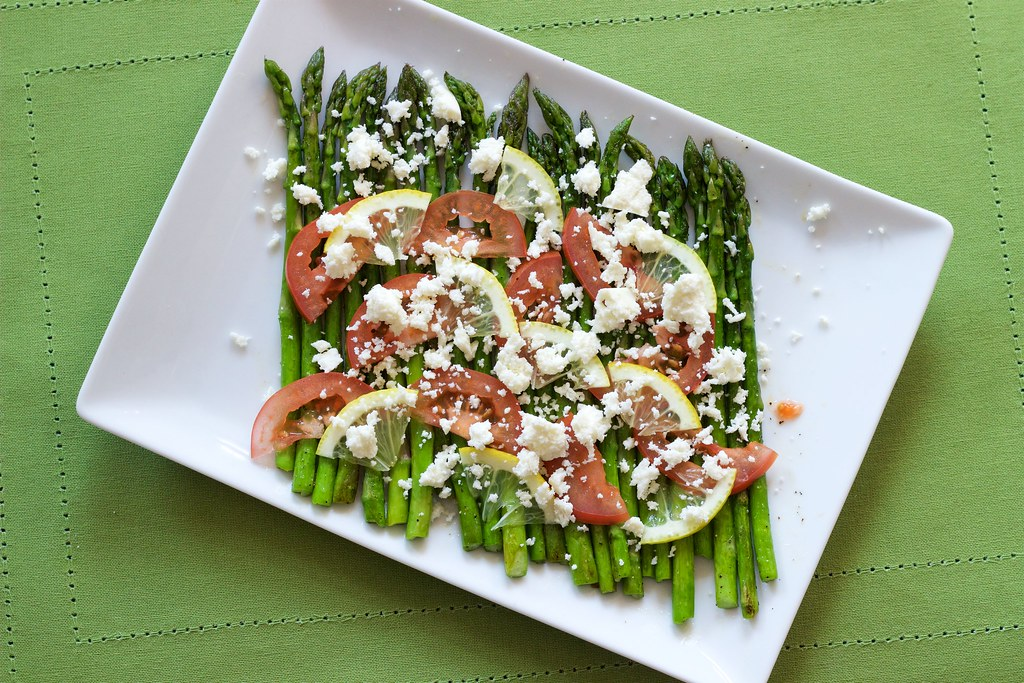 Picture of Finished Asparagus Dish
