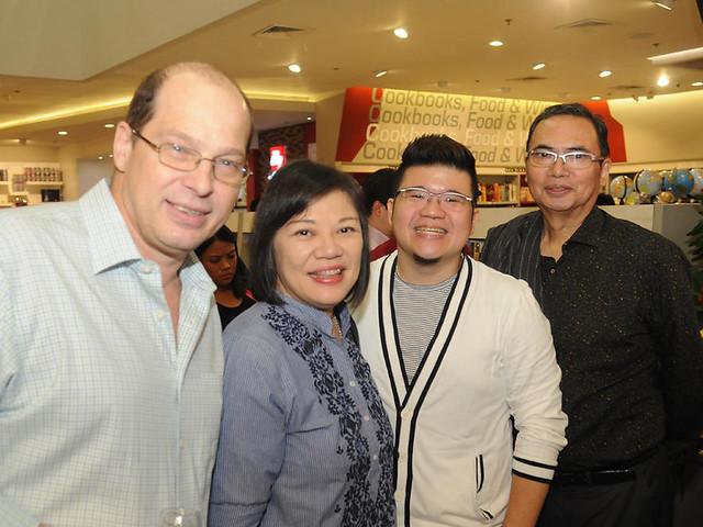Chefs Martin Kaspar, Vicky-Rose Pacheco, Sharwin Tee and Seiji Kamura