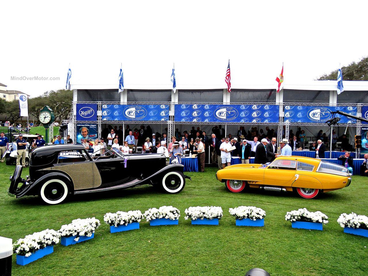 Amelia Island Concours Pegaso and Rolls Royce Winners