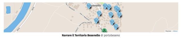 Narrare Besenello mappa