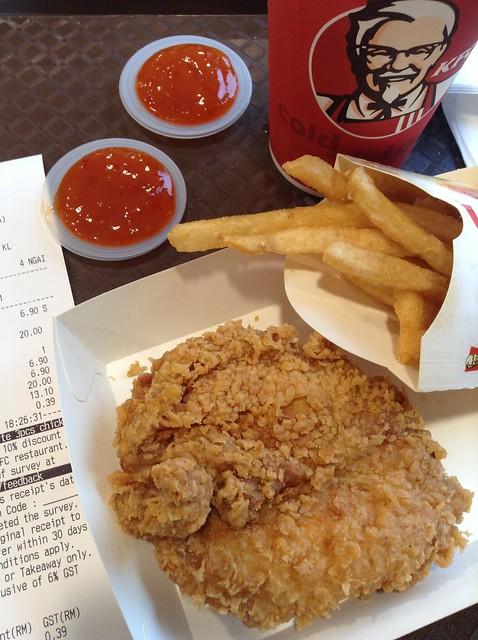 肯德基炸鸡套餐6.9马币