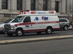 American Medical Response Ambulance in DC
