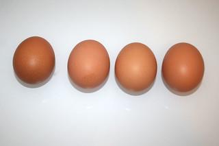 05 - Zutat Hühnereier / Ingredient eggs