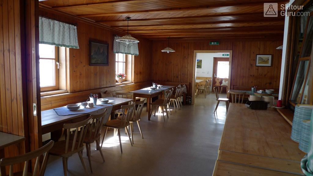 Franz Senn Hütte Stubaiské Alpy Österreich foto 08