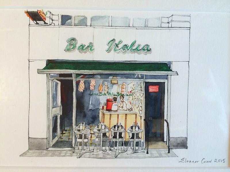 Bar Italia by Eleanor Crow