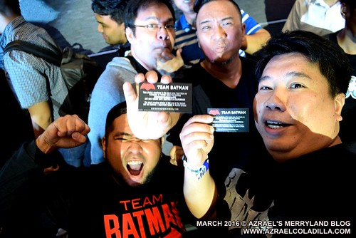 Batman v Superman in SM North EDSA