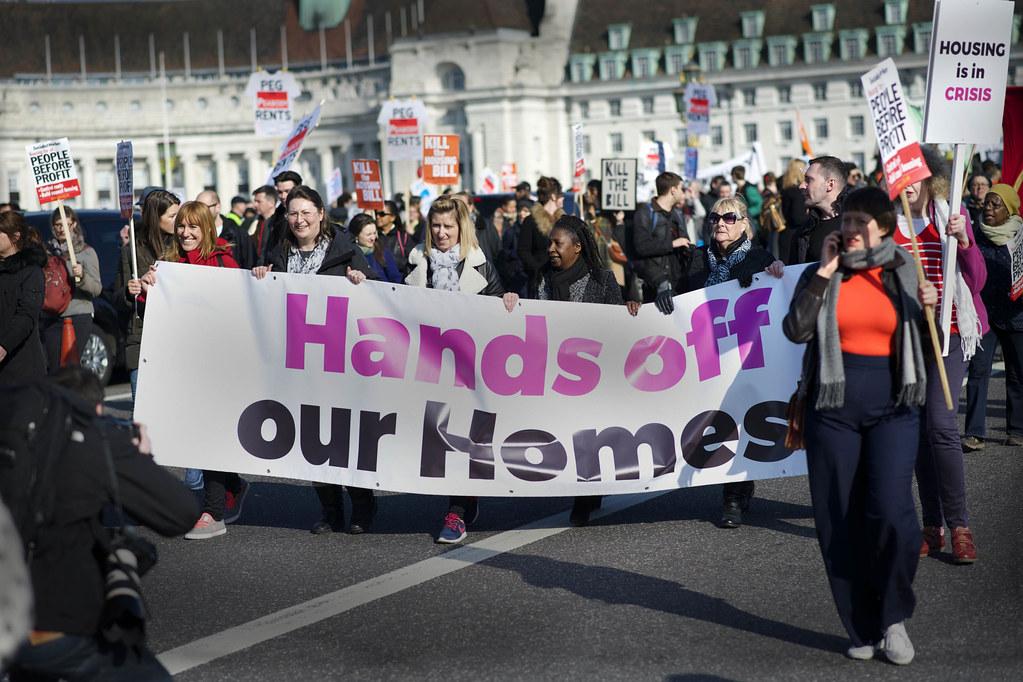 Kill the Housing Bill Demo 13 March 2016 London
