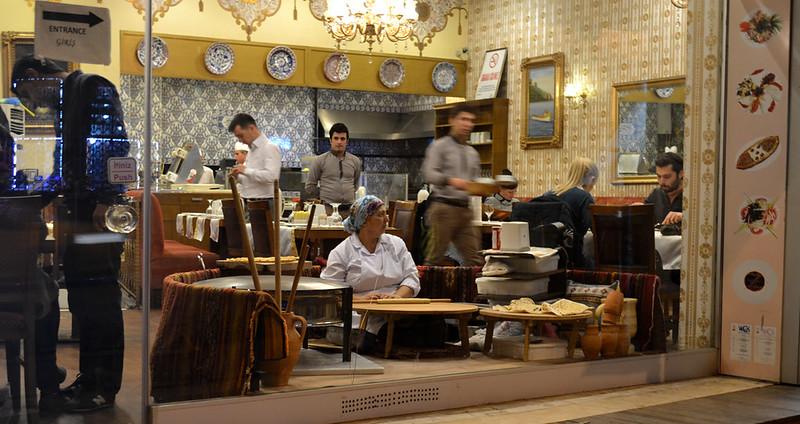 Restaurante tipico de capadocia
