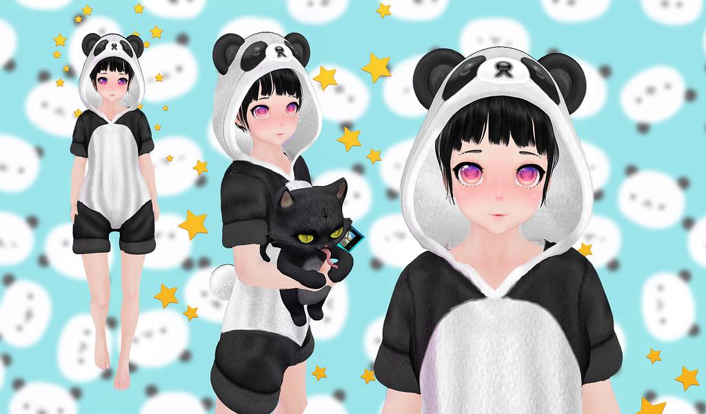 Silly Pajamas Panda