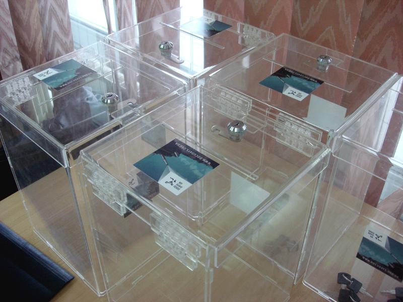 Ballot boxes for DocuDays UA audience award