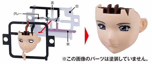 鋼普拉嶄新技術!完全不需塗裝的模型系列「鋼普拉角色胸像系列」フィギュアライズバスト 誕生!