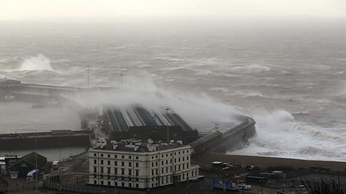 Storm Katie hits Dover